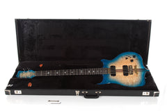 "1990 Alembic Distallate 5 String Bass Caribbean Blue Burst Quilt Top -34"" SCALE-"