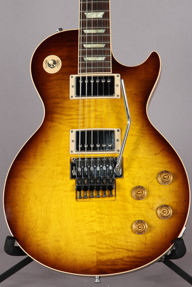 Gibson Custom Shop Alex Lifeson Les Paul Axcess Viceroy Brown Al 918