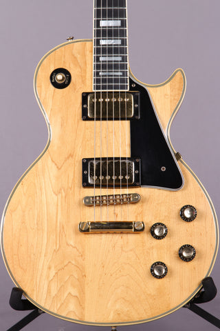 1976 Gibson Les Paul Custom Natural