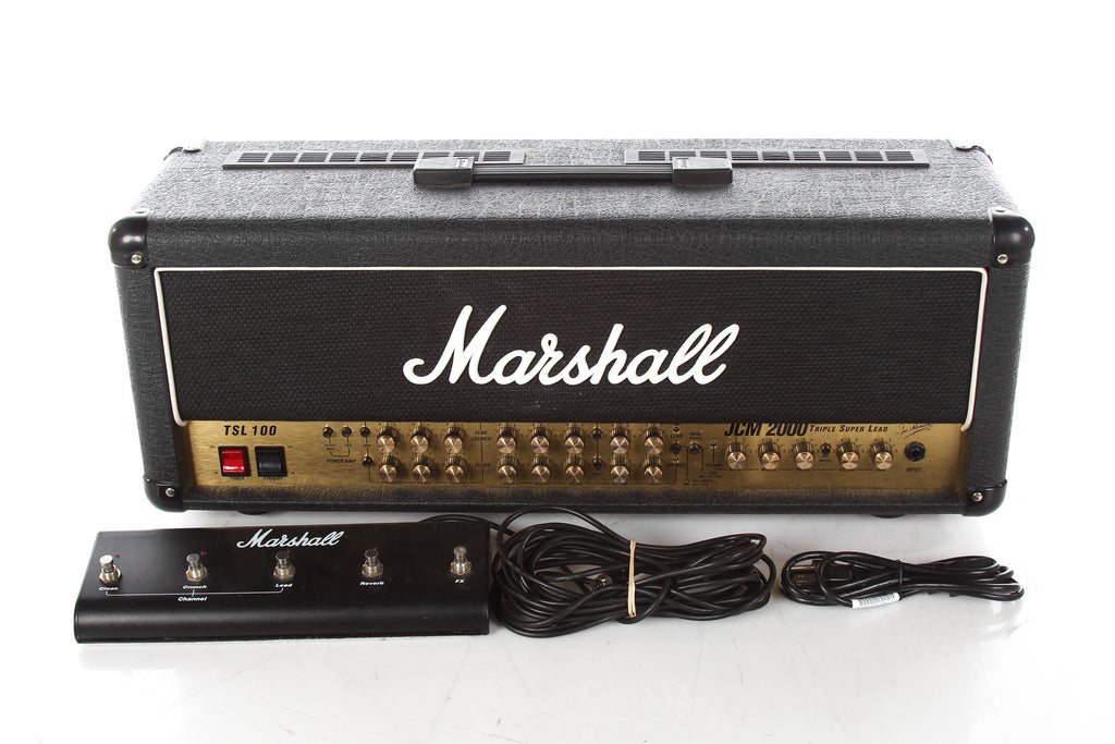 2003 Marshall JCM 2000 TSL 100 Triple Super Lead 100 Watt Tube Head