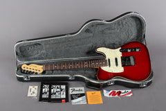 1996 Fender Telecaster Plus Version 2 V2 Crimson Burst