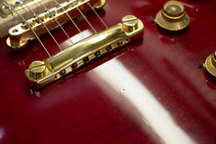 1998 Gibson Custom Shop Les Paul Classic Plus Transparent Red
