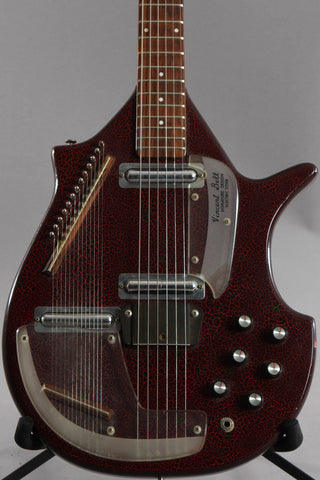 1968 Danelectro Vincent Bell Coral Sitar Red Crackle