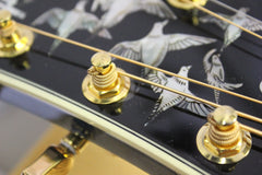 2016 Gibson Custom Shop Doves in Flight Limited Edition Trans Blue