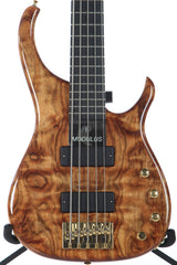 2004 Modulus Quantum Q 5 String Bass Chechen Top