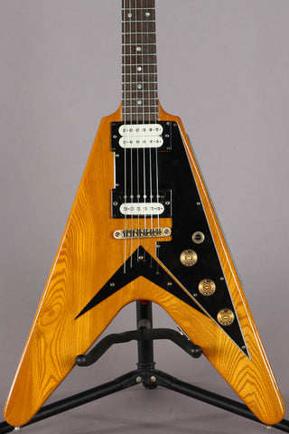 1976 Ibanez Rocket Roll Flying V Natural