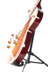 2013 Left Handed Gibson Les Paul Standard Premium Plus Cherry Sunburst Flame Top
