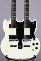 1989 Gibson EDS-1275 Sg Double Neck Electric Guitar Alpine White -SUPER CLEAN-