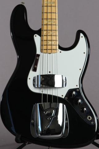 1975 Fender Jazz Bass Black