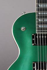 2007 Gibson Les Paul Standard GT Ghost Flame Muscle Green