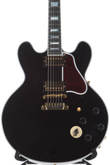 2017 Gibson Memphis Custom B.B. King Lucille Black Semi Hollowbody