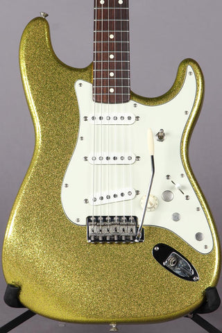 1995 Fender Custom Shop Artist Series Dick Dale Signature Stratocaster Chartreuse Sparkle