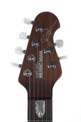 2014 Ernie Ball Music Man Ball Family Reserve John Petrucci Bahama Blue -ROSEWOOD NECK-