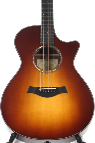 2009 Taylor 712ce Grand Concert Acoustic Electric Guitar Sunburst