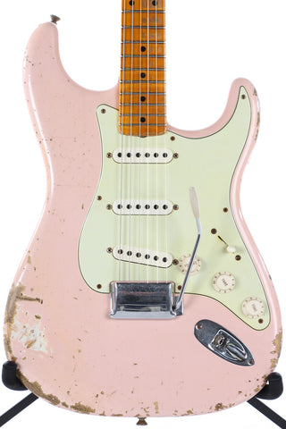 2013 Fender Custom Shop 1956 Heavy Relic Stratocaster Shell Pink