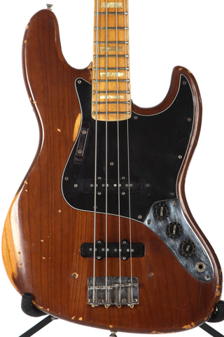 1977 Fender Jazz Bass Mocha Brown
