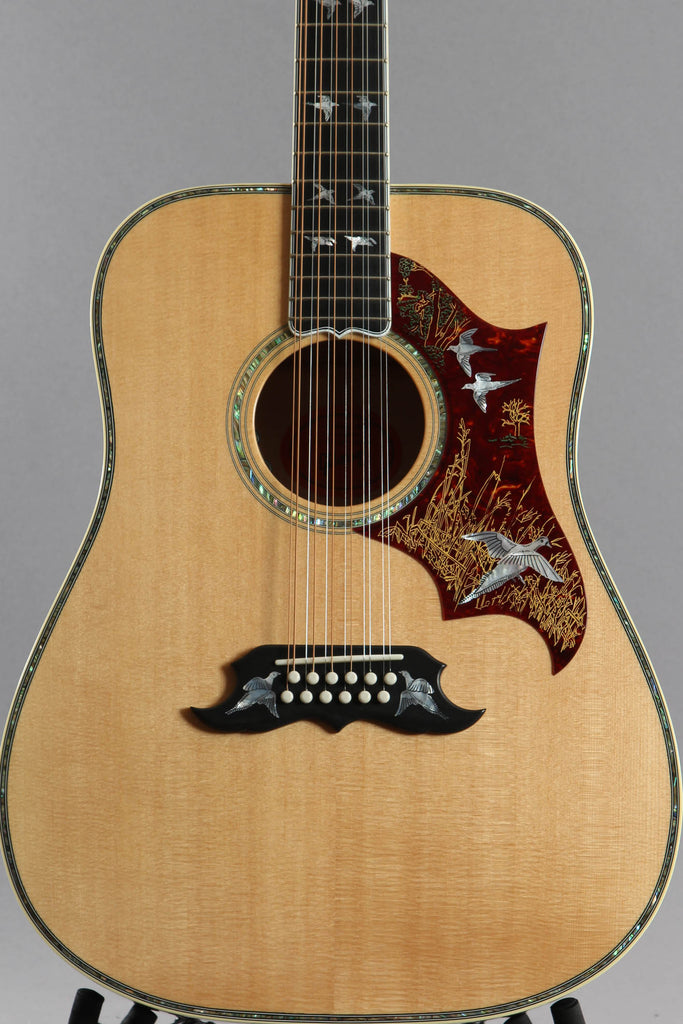 2018 Gibson Custom Shop Doves In Flight 12-String Acouctic Electric