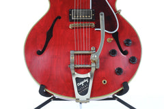 2017 Gibson Memphis ES-355 Sixties VOS Cherry with Factory Bigsby -CLEAN-