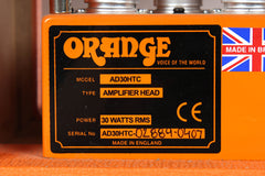 2007 Orange AD30 HTC 30W Tube Guitar Amp Head -MADE IN ENGLAND-