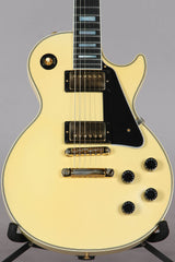 2018 Gibson Custom Shop Exclusive Les Paul Custom VOS Electric Guitar Classic White