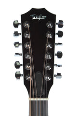 2006 Taylor T5S1 12 String Acoustic Electric Guitar Trans Black Flame Top