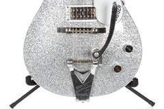 2005 Gretsch G6129T Silver Jet Electric Guitar Silver Sparkle