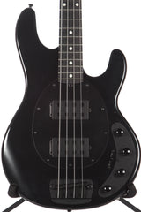 2015 Ernie Ball Music Man Stingray 4HH Stealth 4 String Bass -EBONY FINGERBOARD-
