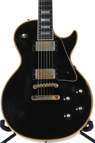 1974 Gibson Les Paul Custom Ebony Black