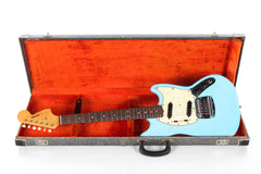 1966 Fender Mustang Daphine Blue -REFIN-