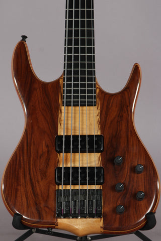 1994 Ken Smith Chuck Rainey CR5G 5 String Bass -Walnut Back-