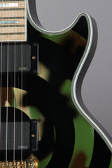 Gibson Custom Shop Les Paul Custom Zakk Wylde Camo ZP 483