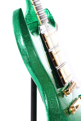 2008 Gibson Custom Shop SG Custom Green Sparkle