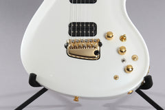2008 Parker Fly Classic Pearl White with Graphtech Synth Plus Mag/Piezo Stereo Output