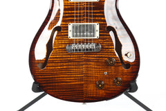 2011 PRS Paul Reed Smith Hollowbody II Black Gold Wrap 10 Top