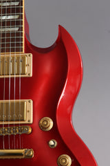 2008 Gibson Sg Diablo Metallic Red ~Video Of Guitar~