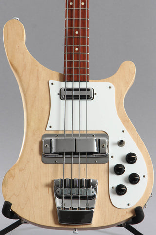 2004 Rickenbacker 4001C64S MG Satin Mapleglo Bass Guitar