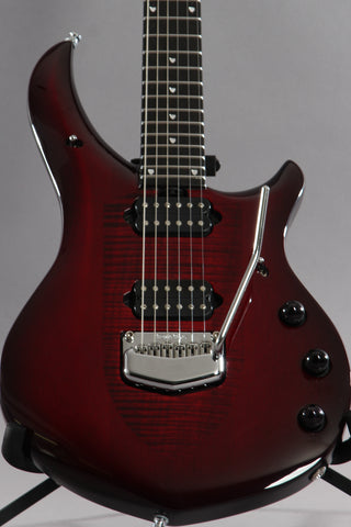2017 Ernie Ball Music Man John Petrucci Monarchy Majesty Royal Red