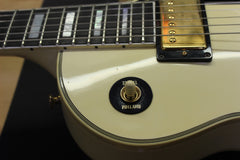 2002 Gibson Les Paul Custom White