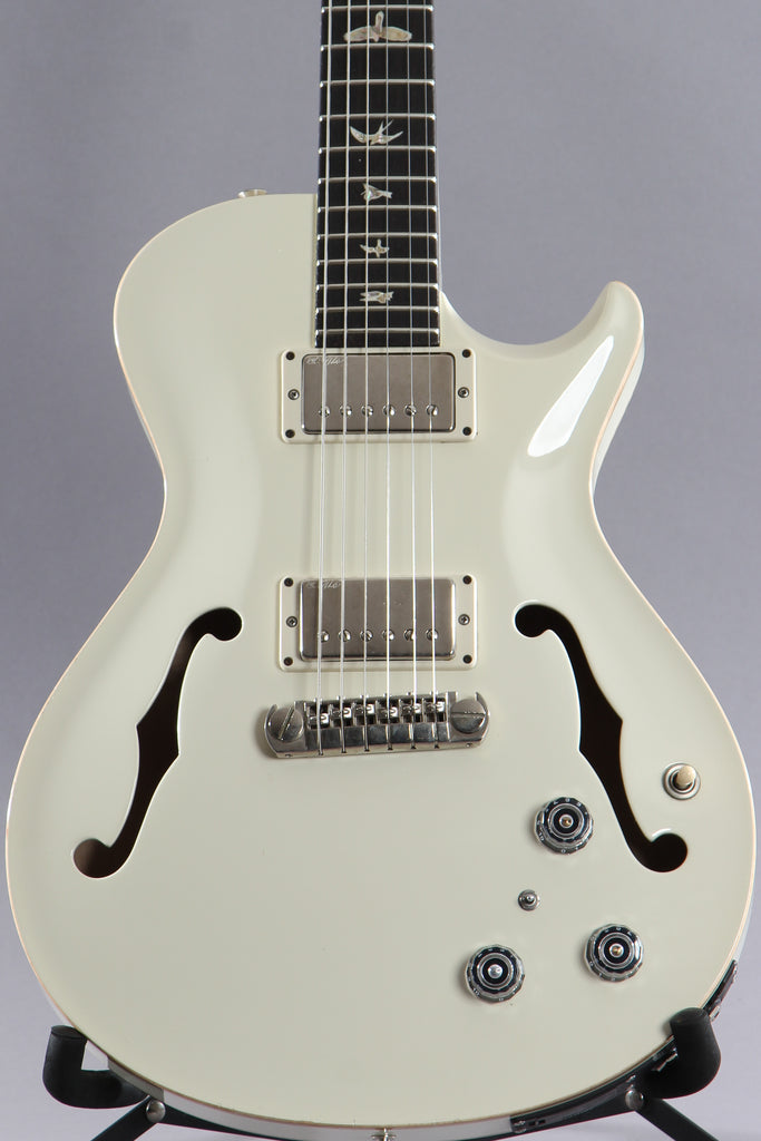 2014 Paul Reed Smith PRS Hollowbody II Singlecut Antique White w/Piezo