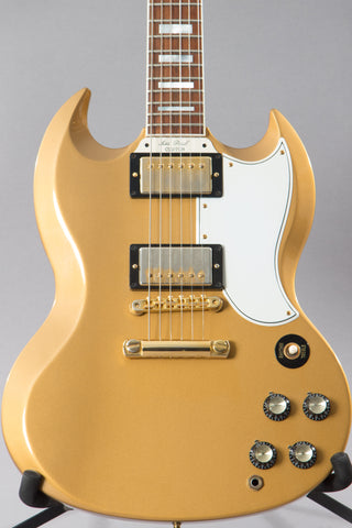 2012 Gibson Custom Shop SG Custom 2 Pickup Antique Gold All Gold