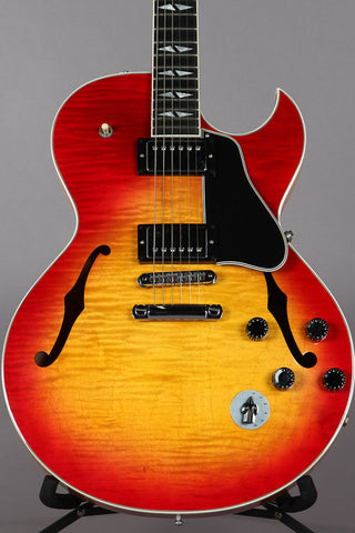 2003 Gibson Custom Shop ES-137 Custom Cherry Sunburst