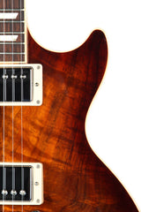 2013 Gibson Les Paul Standard Premium Koa Electric Guitar Honeyburst