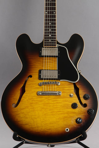 2008 Gibson Custom Shop ES-335 Tobacco Sunburst Flame Top