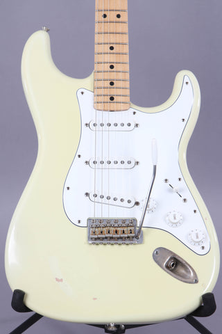 2004 Fender Custom Shop '69 Closet Classic Stratocaster Relic Olympic White