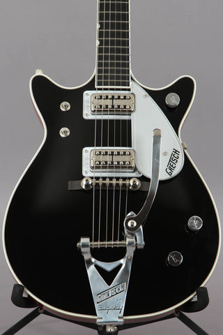 2014 Gretsch G6128T-1962 Duo Jet Double Cutaway Black Electric Guitar