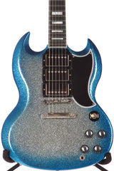2008 Gibson Custom Shop SG Custom Blue Burst Sparkle -RARE-