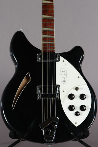 2000 Rickenbacker 360 CW Carl Wilson Electric Guitar Jetglo #35/500