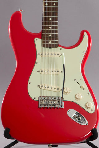 2008 Fender Artist Series Mark Knopfler Stratocaster Hot Rod Red