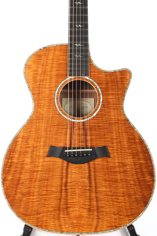 2011 Taylor K24ce KOA Grand Auditorium Acoustic Electric -ABALONE TRIM-