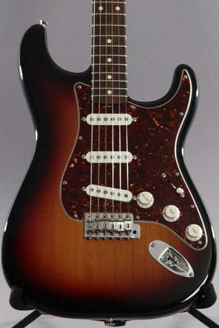 2006 Fender Artist Series John Mayer Stratocaster Sunburst ~Video Of Guitar~